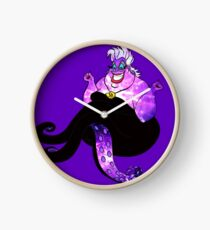 Ursula the Galaxy Sea Witch Clock