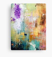 life of paint Canvas Print