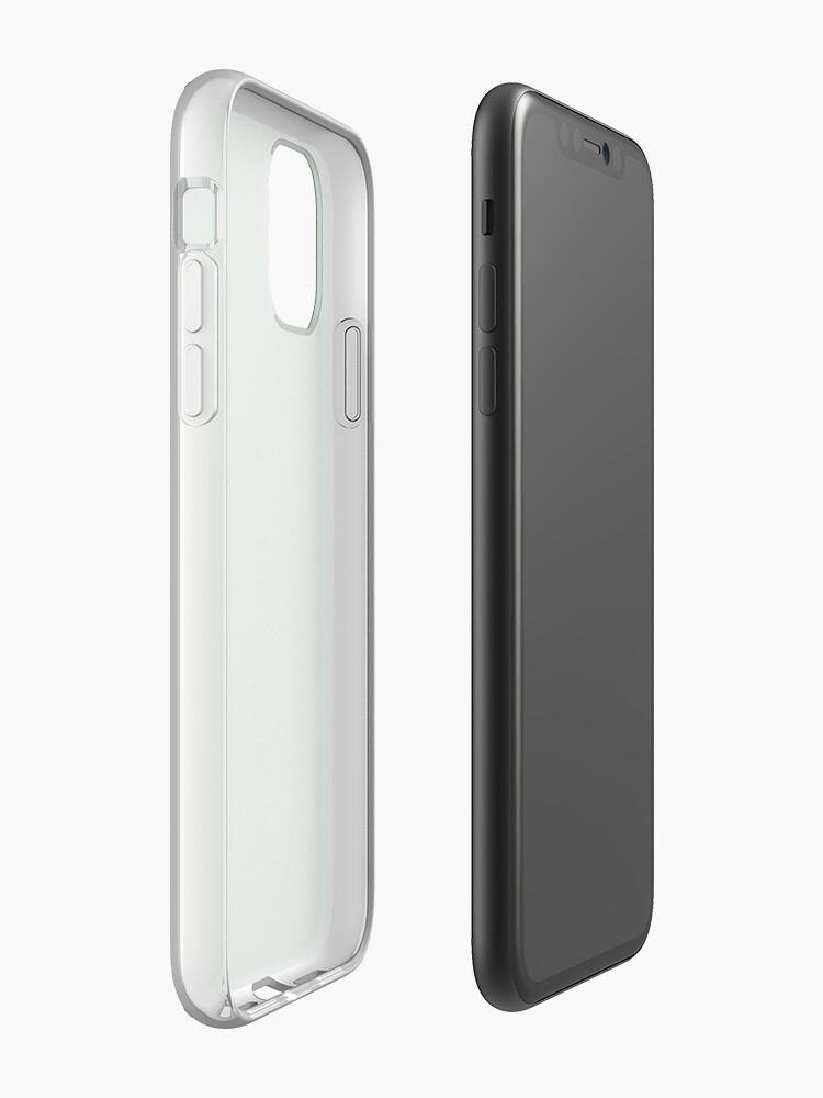 Vista alternativa de Funda y vinilo para iPhone Cuero verde esmeralda