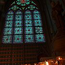 Notre Dame Cathedral and Candles by StonePics