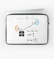 Newton's 1st Law of Motion with POrtals Laptop Sleeve