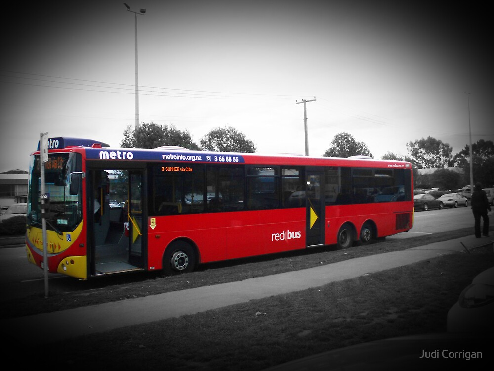 The Red Bus by Judi Corrigan