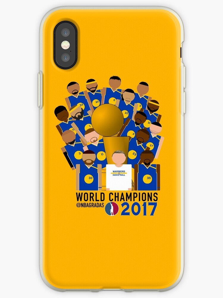 promo code f9acc 833e8 'Golden State Warriors NBA Champions' iPhone Case by nbagradas