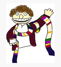 Fourth Doctor Muppet Style Photographic Print