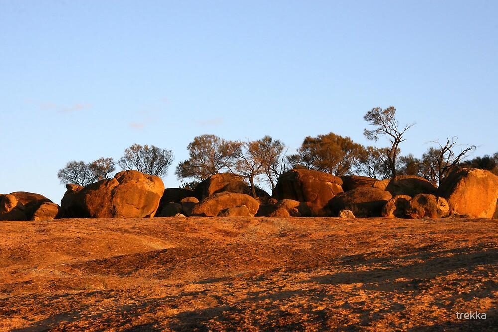 Sunset Boulders by trekka
