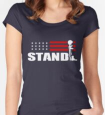 Stand! Women's Fitted Scoop T-Shirt