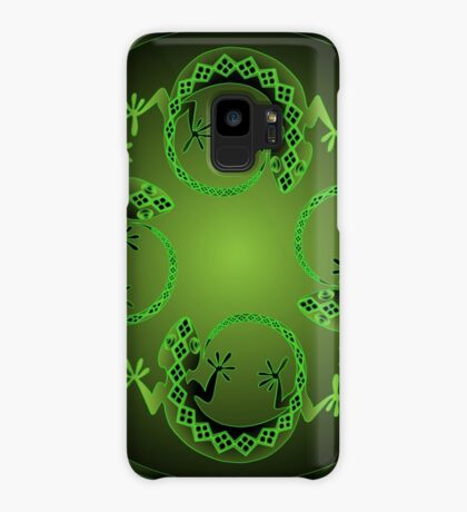 Green Gecko Case/Skin for Samsung Galaxy