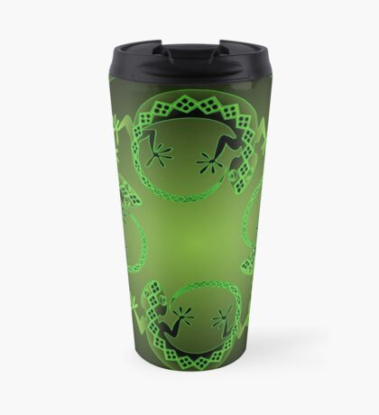 Green Gecko Travel Mug