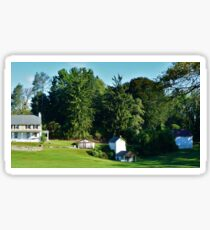 Farmhouse in Chester County Sticker