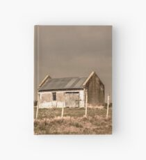 Rural Landscape Scene Hardcover Journal