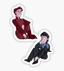 Kira & Jadzia Sticker