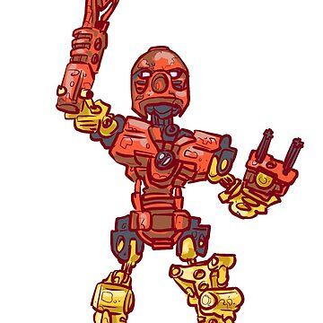 Toa Tahu by daoustdraws