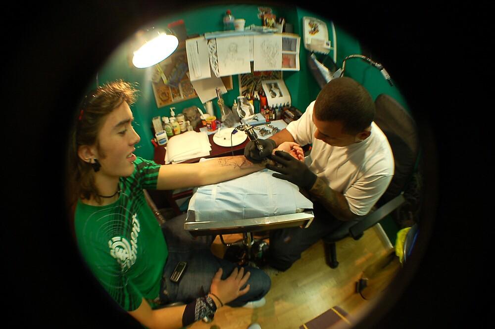Underground Tattoo by Sam Lomas