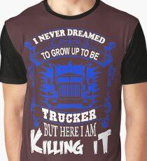 Trucker Shirt, Funny Truck Driver T-Shirt Graphic T-Shirt
