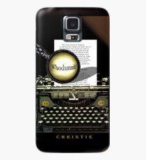 Agatha Christie kennt Whodunnit! Hülle & Klebefolie für Samsung Galaxy
