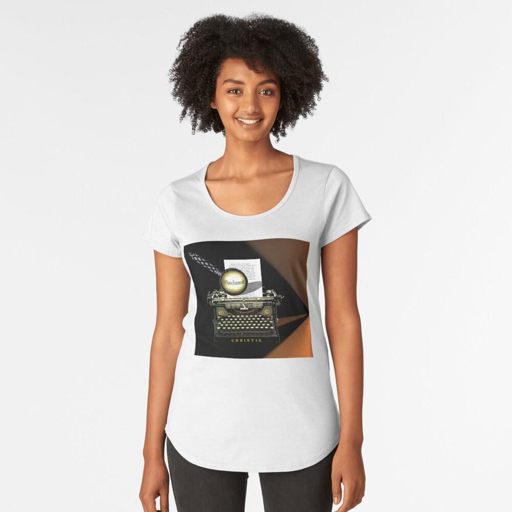 Agatha Christie kennt Whodunnit! Premium Rundhals-Shirt
