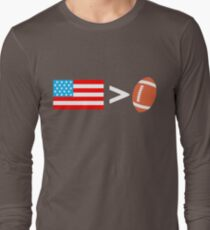 America greater than football T-Shirt