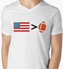 America greater than football T-Shirt