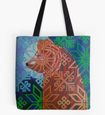 Otso in the Moonlight Tote Bag