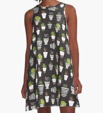 Moody Botanicals A-Line Dress