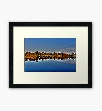 Reflections in the Park Framed Print