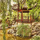 China. Shanghai. Yu Garden. Gazebo. by vadim19