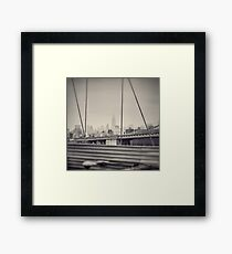 Staring at the Empire State Building Framed Print
