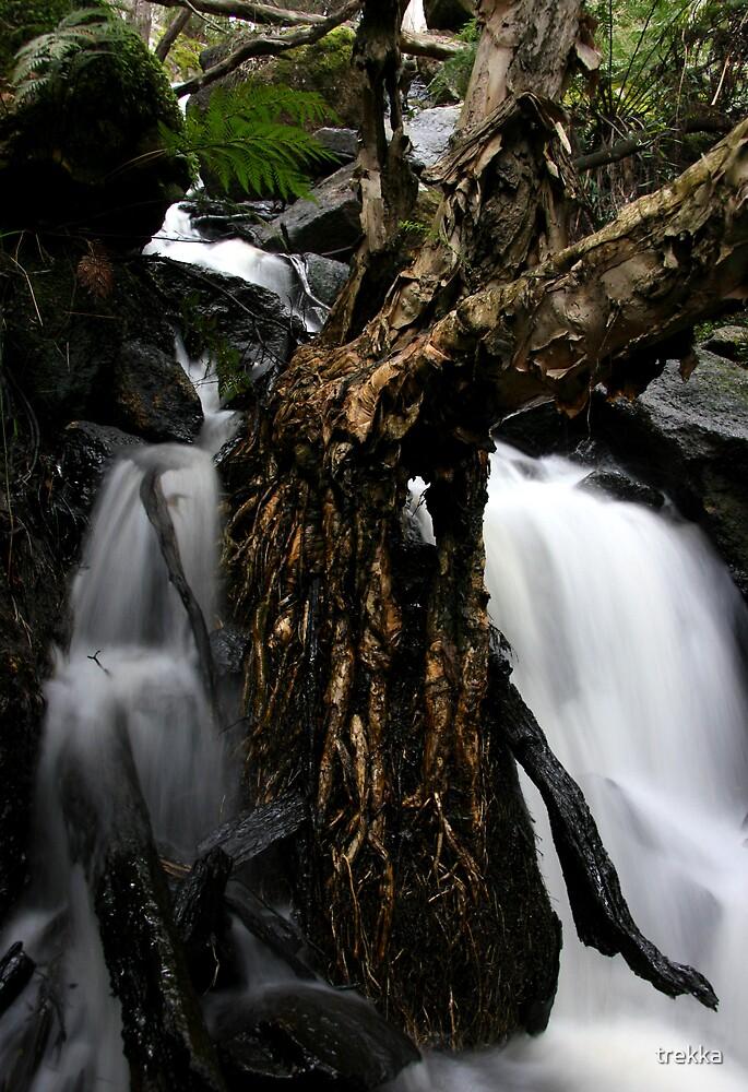 Shiprock Falls by trekka