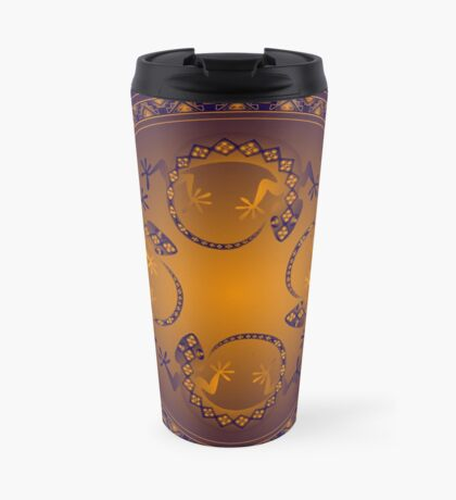 Orange Gecko Travel Mug
