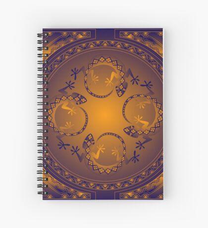 Orange Gecko Spiral Notebook