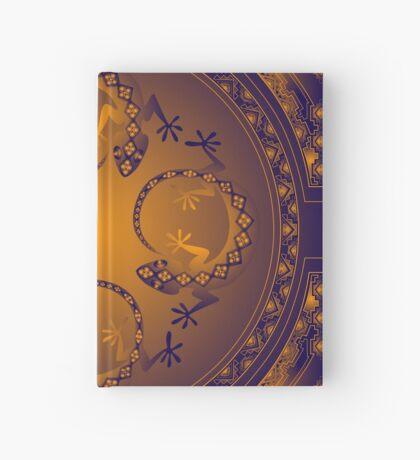Orange Gecko Hardcover Journal