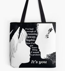 Howl and Sophie - Howl's Moving Castle Tote Bag
