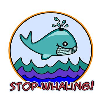 Stop whaling! by Trebolazul