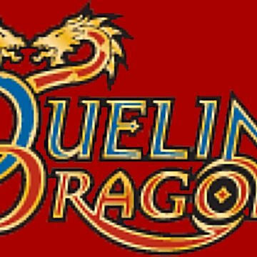Dueling Dragons Logo by ventronehd