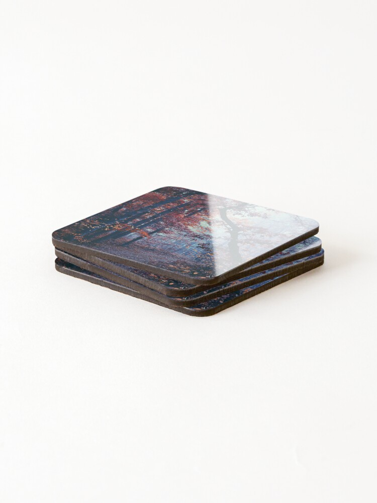 Alternate view of Haunted Autumn  Coasters (Set of 4)