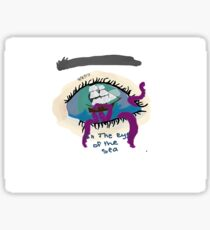 eye  of the seas Sticker