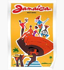 Jamaica West Indies Poster