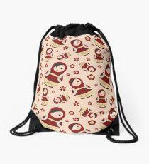 Momo Yaoyorozu Matryoshka Doll Pattern Drawstring Bag