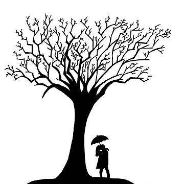 Tree Silhouette by W1nt3rs