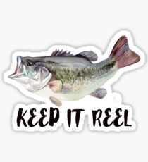 keeping it reel fishing  Sticker