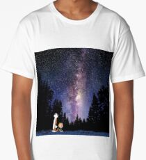 calvin and hobbes dream Long T-Shirt