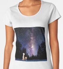 calvin and hobbes dream Women's Premium T-Shirt