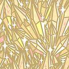Crystal Pattern - Jasper Topaz by raelcsART