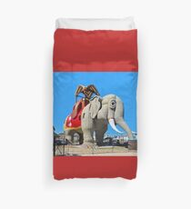 Lucy the Elephant Duvet Cover