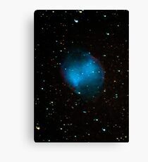 Messier 27: Dumbbell Nebula Canvas Print