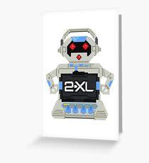 2-Pix-El Greeting Card