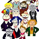 Twelve Doctors Muppet Style by Qooze