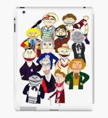 Twelve Doctors Muppet Style iPad Case/Skin