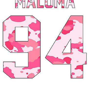 Maluma - Pink Camo by amandamedeiros
