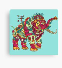 Mammoth, from the AlphaPod collection Canvas Print